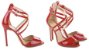 Sandália Vermelha Verniz Schutz - Imagem 2