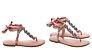 FLAT CRYSTAL LACE UP POPPY ROSE Schutz - Imagem 3
