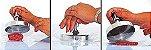 Modelador Fatiador de Hamburguer Profissional em Alumínio - Gallizzi - Imagem 2