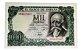 Cédula Antiga da Espanha 1000 Pesetas 1971 - Imagem 1