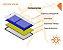 Coletor Solar Pro-Sol 2,14 X 1 Kit Com 02 Placa P/ Aquecimento De Água - Imagem 2
