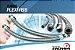 """Tubo Flexível Aço Inox M/F 1"""" x 80cm com Conexões em Bronze niquelado Rowa - Imagem 3"""