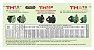 Bomba de Agua Thebe 3cv Th-16 Nr Ip21 Nova Trifasico 220/380v - Imagem 2