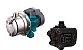 Pressurizador De Agua Lepono Ajm45sl 0,6hp Mono 110v Com Controlador De Pressao Aps-2.1 - Imagem 1