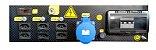 Gerador Pramac Gasolina X14000 16,2kva Avr Trifasico Biv Partida Eletrica - Imagem 4