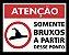 Placa Somente Bruxos - Imagem 2