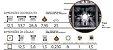 Kit com 10 Bandejas de Germinação com 50 células Quadradas - Preto - Imagem 2