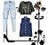colete jeans boyfriend escuro Coleteria - Imagem 8