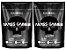 2x Mass Gainer 3kg (Total 6kg) Chocolate - Black Skull - Imagem 1