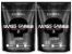2x Mass Gainer 3kg (Total 6kg) Cookies & Cream - Black Skull - Imagem 1