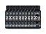 Combo 10x Bcaa 2400 100 Tabs - Black Skull Caveira Preta - Imagem 1