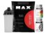 100% Whey Refil 2kg Chocolate Max Titanium + Zma 90 Cáps + Multimax 90 Cáps + Shaker - Imagem 1
