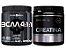 Bcaa 4.1.1 280g - Black Skull Açaí com Guaraná + Creatina 300g Probiótica - Imagem 1