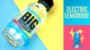 LIQUIDO  LIMONADA ELÉTRICA BY BIG BOTTLE CO. E-JUICE - 120 ML - 3MG NICOTINA - Imagem 2