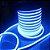 Fita Led Neon Rolo 100m 16*8 Azul Ciano 12w/m - JK - Imagem 2