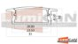 Perfil Embutir 31X10MM Slim LUM51SL Fita Led - Imagem 2