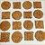 Biscoitos Alfabeto - 24 unidades - Imagem 1