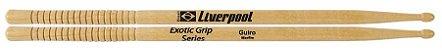 Liverpool Baqueta Exotic Grip Guiro Marfim P.M PEGGUI - Imagem 1