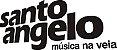 Santo Angelo Cabo Textil Std P10XP10L 4,57M 15FT Guitarra Violão - Imagem 2