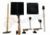 O Acústico Drum Set Cajón 3in1 Ganza Platinela Suporte prato OA152 - Imagem 8