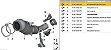 "DOWNPIPE 3"" BMW X3 3.0 2012 28I | E84 09/2012+ - INOX 409 - Imagem 5"