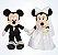 Mickey e Minnie noivos / Casamento Pelúcia Disney Parks - Imagem 1