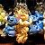 Chaveiro balde de pipoca Mickey, Et, Pato Donald, Dumbo, Stitch, Sr Cabeça de Batata ou Minnie - Imagem 3