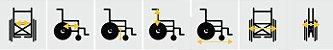 Cadeira de rodas Tetra Até 100 Kg - Prolife  - Imagem 4