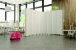 Biombo Hospitalar Sanfonado PVC Plus 2 Bases Móveis 1,65 m x 2,20 m - Imagem 2