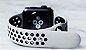 Pulseira Esportiva Apple Watch Serie 1/2/3 Branca com Preto - Imagem 2