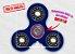 Fidget Hand Spinner - Clássico Azul Translúcido - Imagem 1