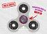 Fidget Hand Spinner - Clássico Transparente - Imagem 1