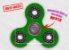 Fidget Hand Spinner - Clássico Verde Claro - Imagem 1