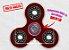 Fidget Hand Spinner - Clássico Vermelho Translúcido - Imagem 1