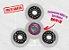 Fidget Hand Spinner - Discos Transparente - Imagem 1