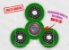 Fidget Hand Spinner - Discos Verde Claro - Imagem 1