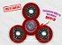 Fidget Hand Spinner - Discos Vermelho - Imagem 1