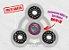 Fidget Hand Spinner - Órbita Transparente - Imagem 1