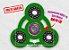 Fidget Hand Spinner - Órbita Verde Claro - Imagem 1
