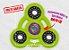 Fidget Hand Spinner - Órbita Verde Neon - Imagem 1