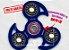 Fidget Hand Spinner - Veloster Azul Translúcido - Imagem 1