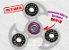Fidget Hand Spinner - Veloster Transparente - Imagem 1