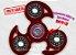 Fidget Hand Spinner - Veloster Vermelho Translúcido - Imagem 1