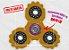 Fidget Hand Spinner - Engrenagem Amarelo - Imagem 1