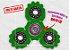 Fidget Hand Spinner - Engrenagem Verde Claro - Imagem 1