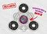 Fidget Hand Spinner - Solar Transparente - Imagem 1