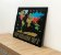 Pôster Mapa Mundi Raspadinha - Preto e Dourado  - Imagem 3