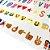112 Letras Coloridas com Emoji para Luminária Letreiro de Cinema - Lightbox - Imagem 4