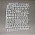 Quadro Letreiro Letter Board - Preto - Moldura Branca - Imagem 4