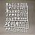 Quadro Letreiro Letter Board - Preto - Moldura Branca - Imagem 5